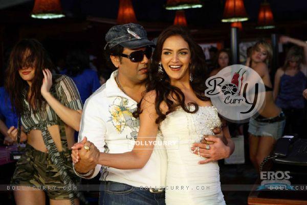 Govinda with Esha Deol in Money Hai Toh Honey Hai