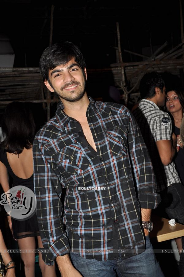 Karan V Grover at Parul Chaudhry birthday bash