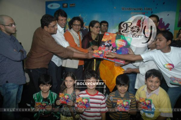 Kay Kay Menon at the launch of Usha Uthup Music CD in ST Catherine's children home. .