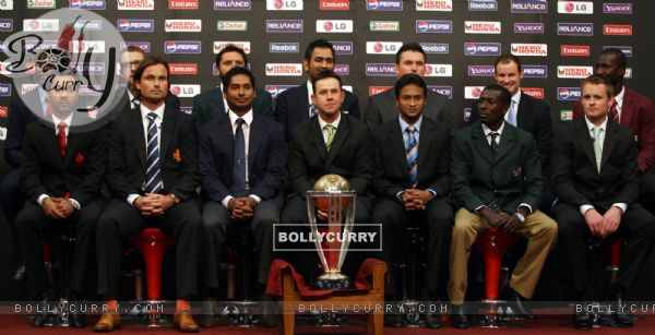 ... the ICC Cricket World Cup in Dhaka, Bangladesh on Feb. 17, 2011. . 3/3
