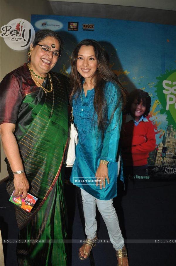 Usha Uthup and Rupali Ganguly at music launch of film''Satrangee Parachute''