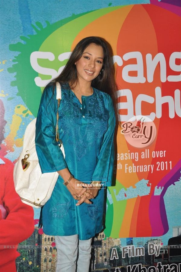Rupali Ganguly at music launch of film''Satrangee Parachute'' in ST Catherine's children home (122187)