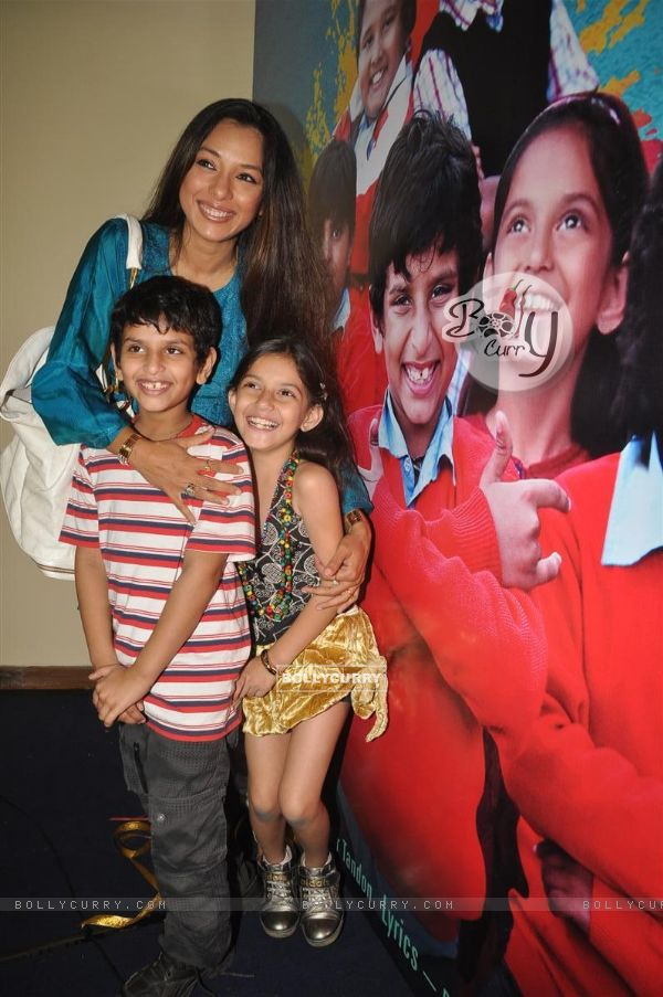 Rupali Ganguly at music launch of film''Satrangee Parachute'' in ST Catherine's children home