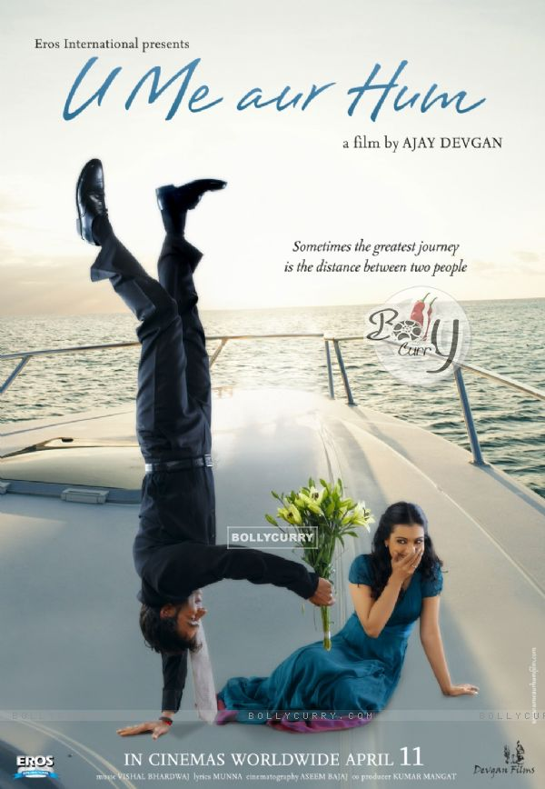 Poster of U, Me Aur Hum with Ajay and Kajol (12295)