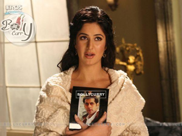 Katrina with Salman photoframe