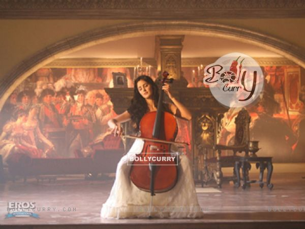 Katrina Kaif playing a cello (12347)