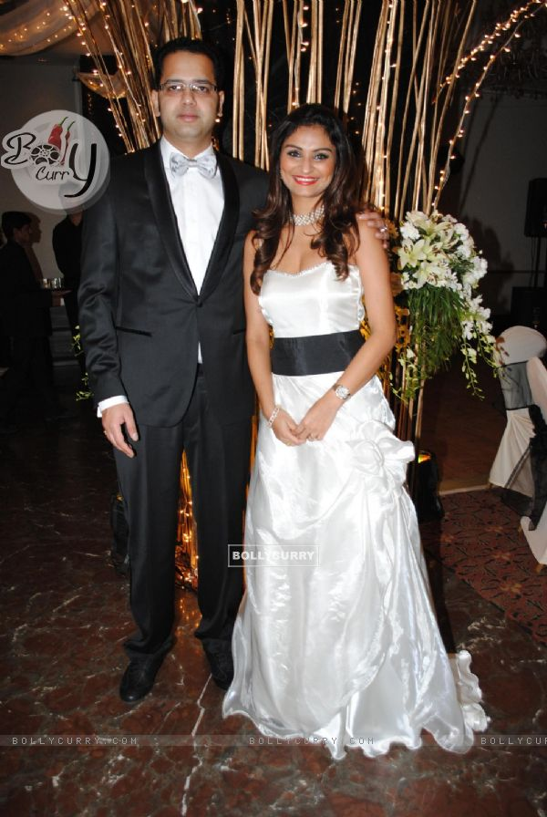Rahul and Dimpy Mahajan 39s 1st wedding anniversary party