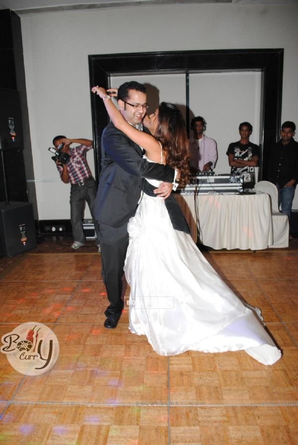 BollyCurry Rahul And Dimpy Mahajans 1st Wedding Anniversary Party