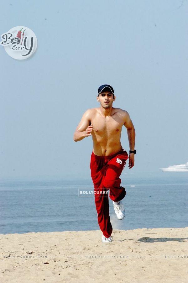 Sammir Dattani looking hot in 42 Kms... movie (12536)