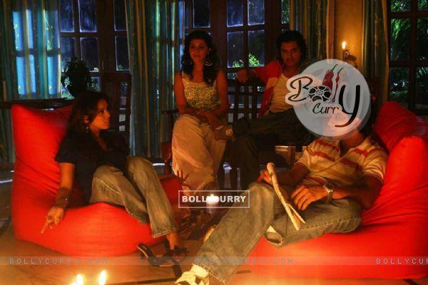 Hrishita Bhatt talking to Subhashish