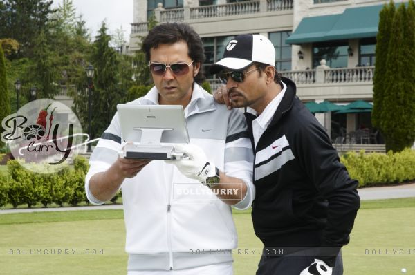 Bobby Deol and Irfan Khan in Thank You movie (125597)