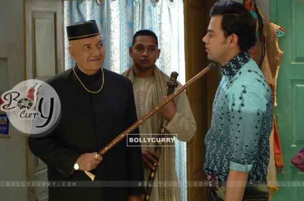 Prem Chopra scolding Cyrus Sahukar