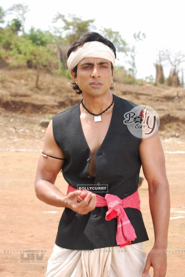 Sonu Sood with a ball in his hand (12612)