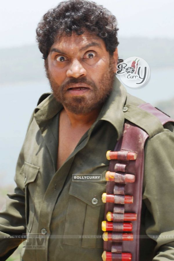 Johny Lever looking very angry