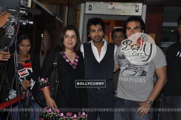 Farah Khan and Arbaaz Khan at Nikhil Dwivedi wedding Reception party. .