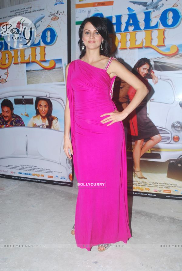 Yana Gupta promote Chalo Dilli at Mehboob Studio, Mumbai