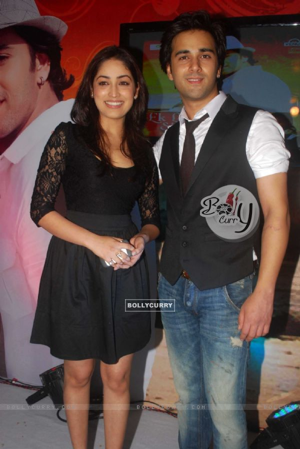 Pulkit Samrat and Yami Gautam at singer Apoorv's album launch Ek Ladki, Shabnami Jaisi
