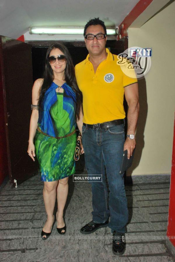 Celeb at screening of movie 'Chalo Dilli' (132355)