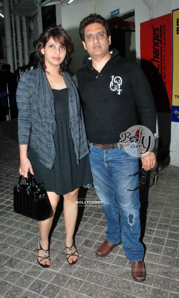 Celeb at screening of movie 'Chalo Dilli' (132356)