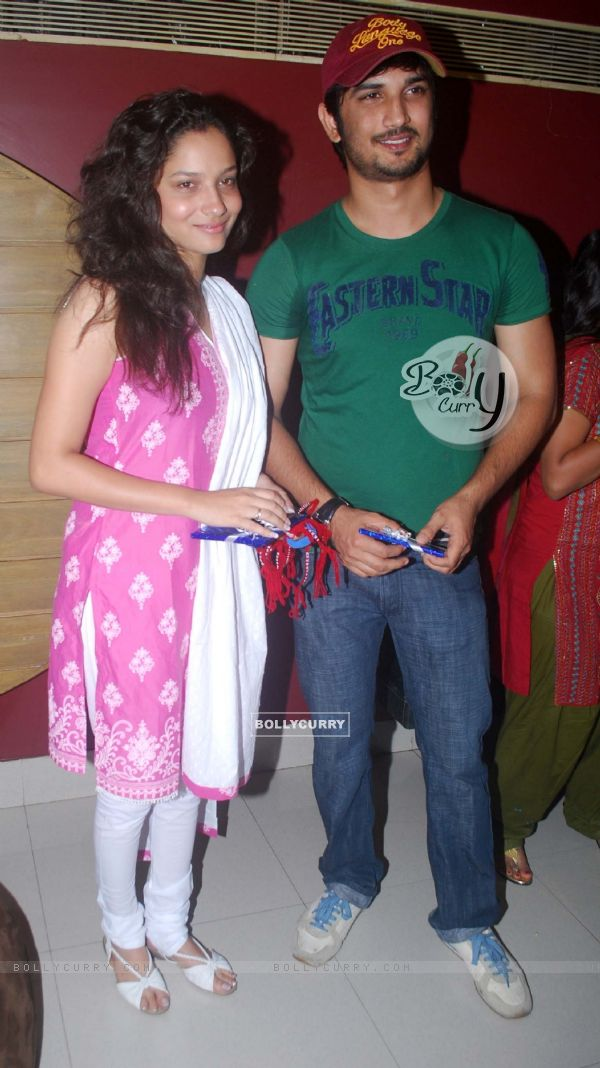 BollyCurry : Sushant Singh Rajput and Ankita Lokhande at International ...