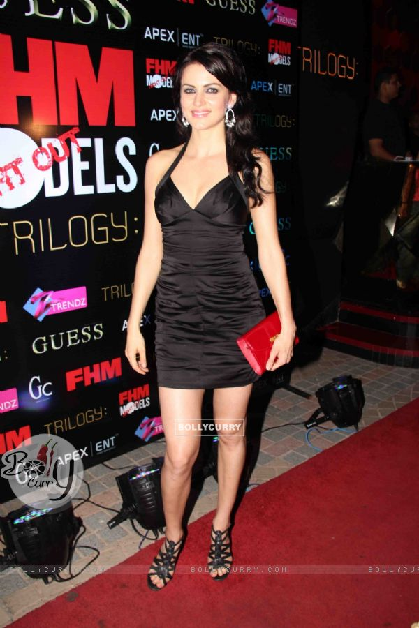 Yana Gupta launches issue of FHM magazine at Sea Princess