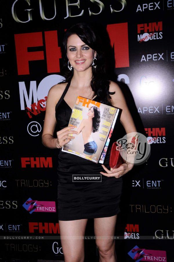Yana Gupta at FHM mag launch, Sea Princess. .