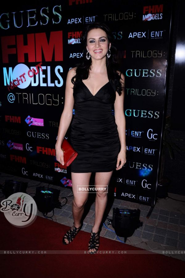 Yana Gupta at FHM mag launch, Sea Princess. .