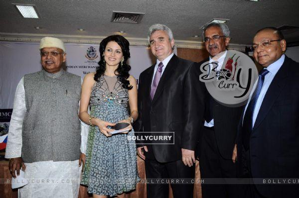 Yana Gupta at IMC-Czech design event, IMC chambers in Mumbai. .