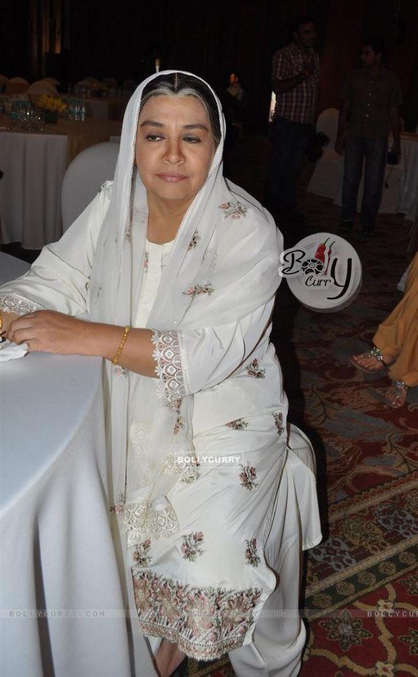 Farida Jalal at launch of SAB TV serial Ammaji Ki Galli at JW Marriott