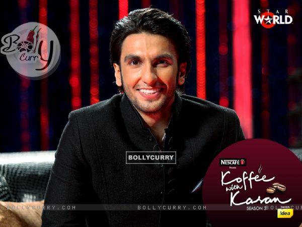 Ranveer Singh on Koffee with Karan