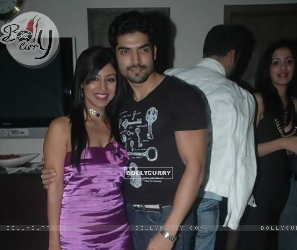 Gurmeet and Debina at Rahul Mahajan's Birthday Bash