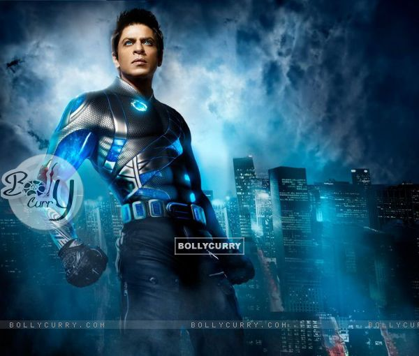 Shah Rukh look in Ra.One