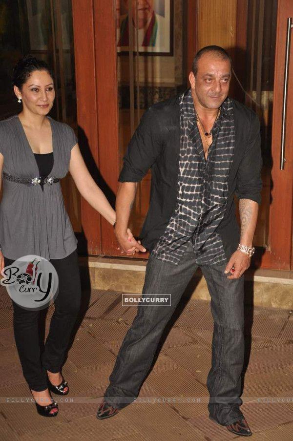 Sanjay Dutt with Maanayata Dutt