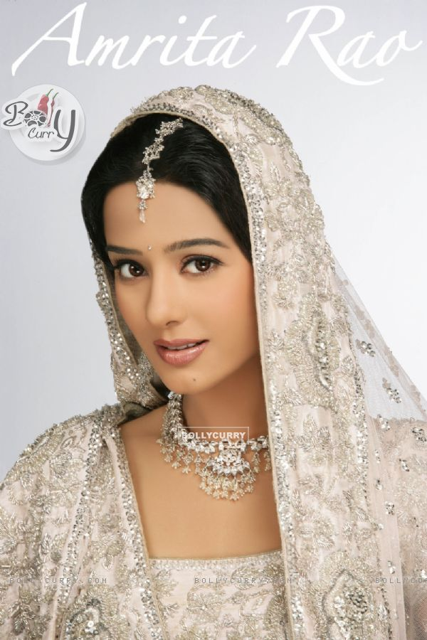 Amrita Rao in Bridal Wear