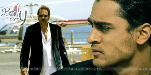 Imran Khan and Sanjay Dutt in movie Luck