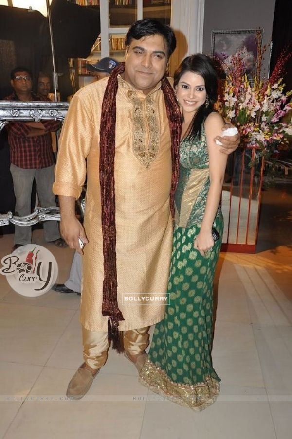Ram Kapoor with his lovely sister Natasha in Bade Acche Laggte Hai