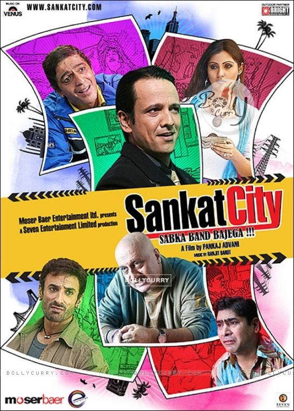 Sankat City movie poster with all cast (15575)
