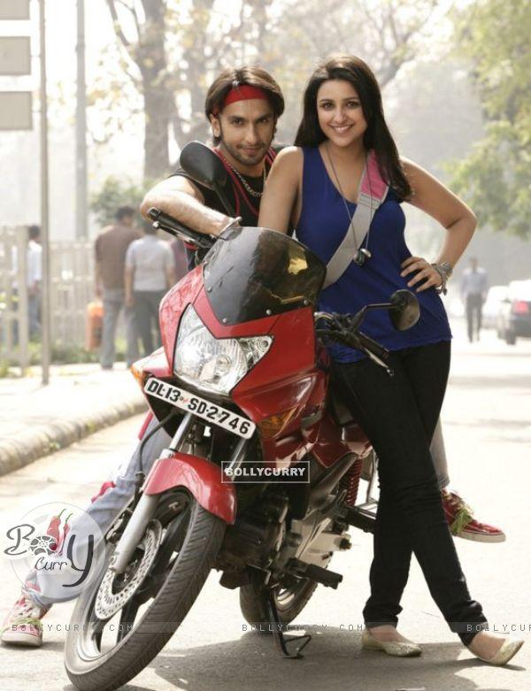 Ranveer Singh With Parineeti Chopra