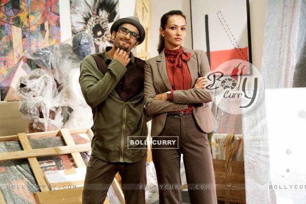 Ranveer Singh with Dipanita Sharma
