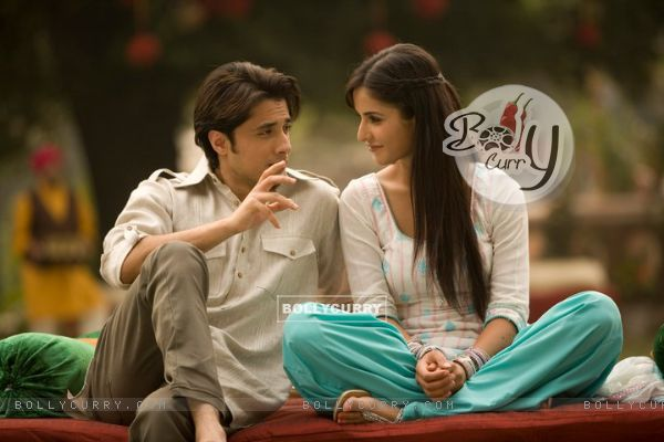 Ali Zafar and Katrina Kaif in the movie Mere Brother Ki Dulhan