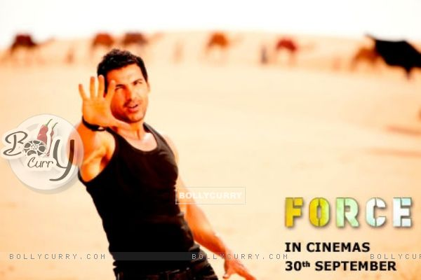 John Abraham in the movie Force