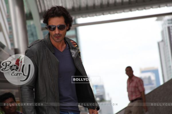Arjun Rampal in the movie Rascals
