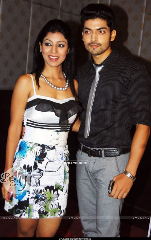 Gurmeet and Debina at 3rd Gold Awards announcement event