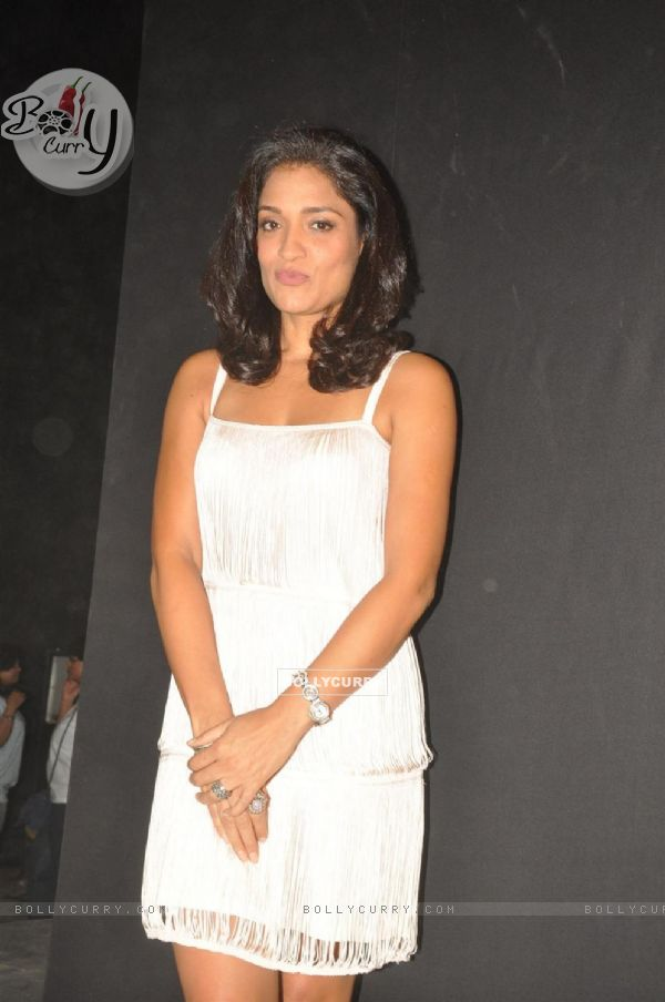 Sandhya Mridul during the promotion of their film 'Force' in Mumbai