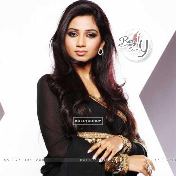 Shreya Ghoshal for the show X-Factor