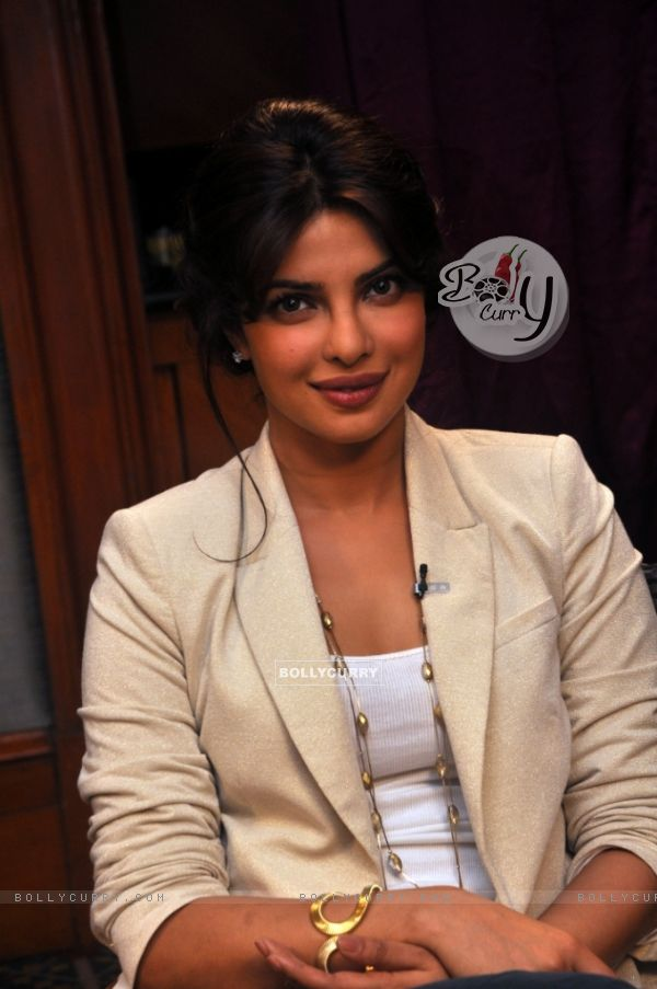Priyanka Chopra on Zoom