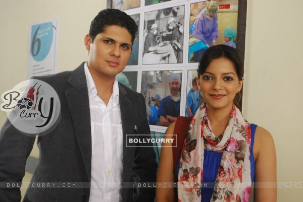 Dr. Ranganth with Anji in tvshow Kuch Toh Log Kahenge