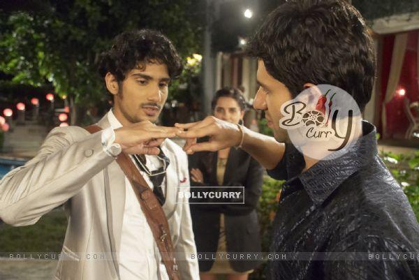 Prateik Babbar in the movie My Friend Pinto