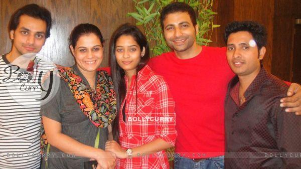 Shakti Arora, Geetanjali Tikekar, Nikhil Arya and Neha Saxena in SPA