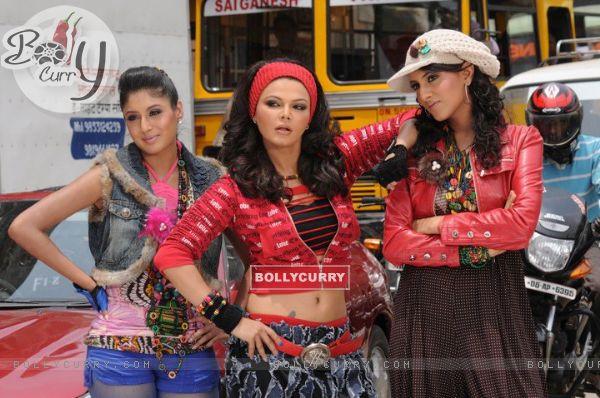 Additi Gupta, Kritika Kamra and Rakhi Sawant